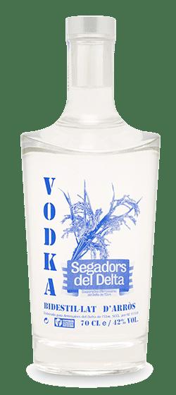 vodka d'arròs Segadors del Delta