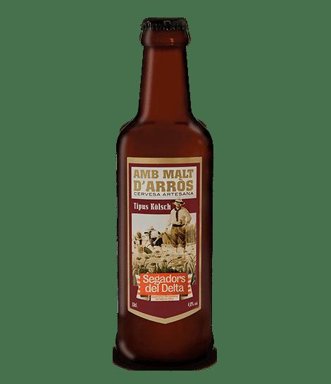 Cervesa Kölsch amb Malt d'arròs 33 cl.