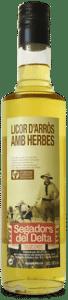 licor d'arròs amb herbes Segadors del Delta
