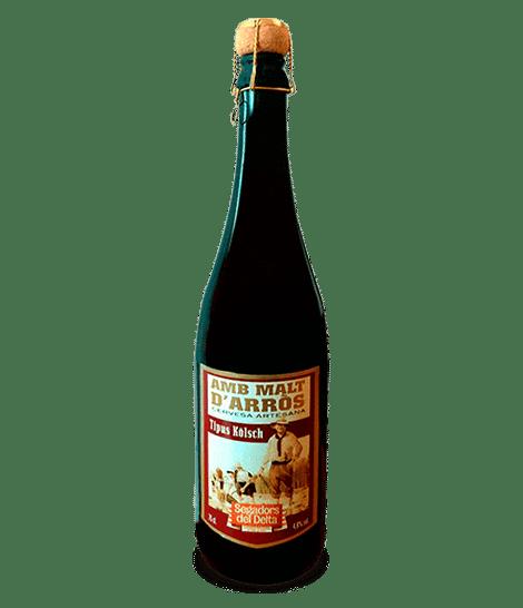 Cervesa Kölsch amb Malt d'arròs 75 cl.