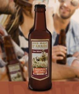 Cervesa d'arròs Segadors del Delta